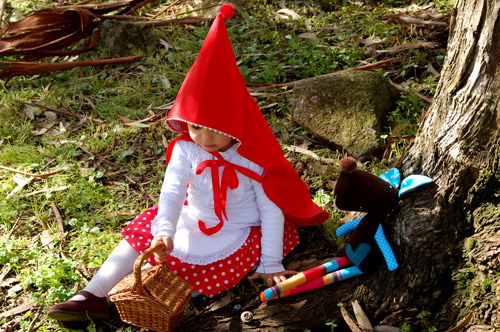 Little Red Riding Hood story and Tristao