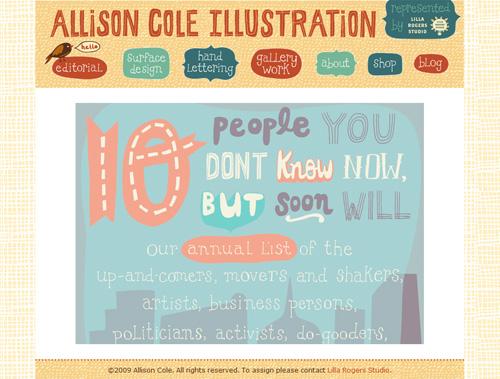 Allison Cole Illustration