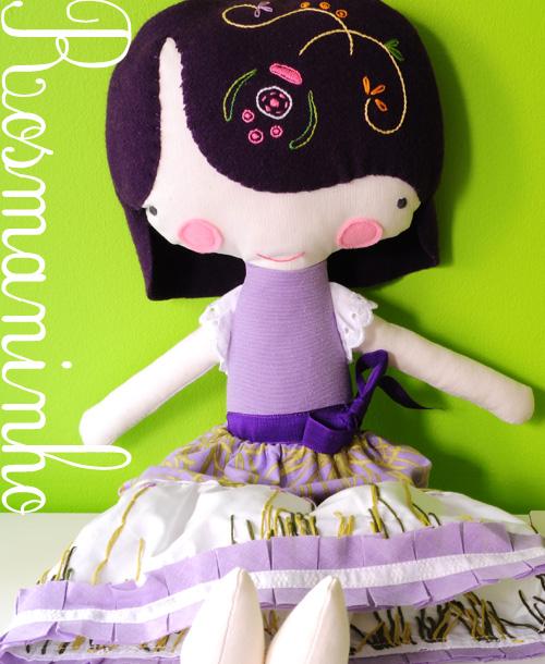 Handmade softie doll