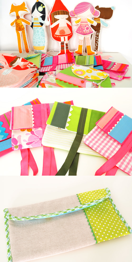 PinkNounou handmade softies and kids accessories