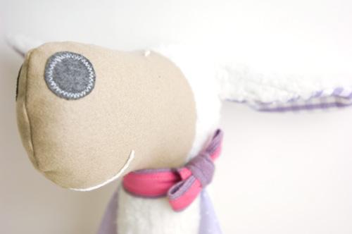 handmade softie sheep