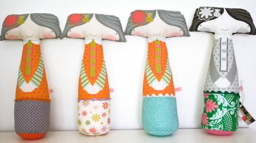 handmade dolls by PinkNounou