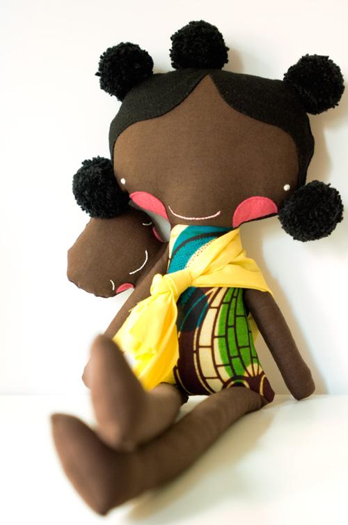 fabric doll by PinkNounou