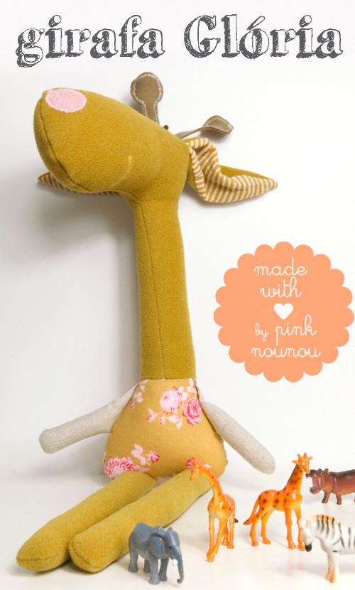 giraffe softie by PinkNounou