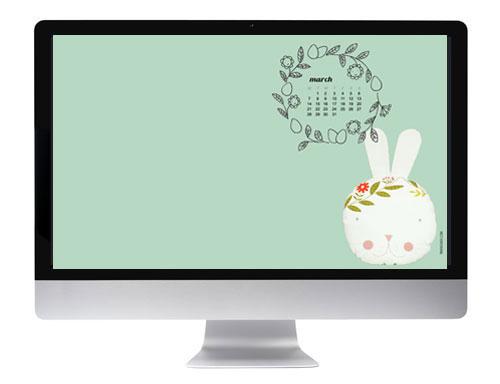 2016-March-desktop-wallpaper-calendar-by-PinkNounou-2