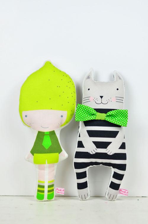 Lemon-doll-with-cat-1