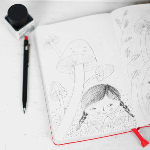 sketch by PinkNounou 2
