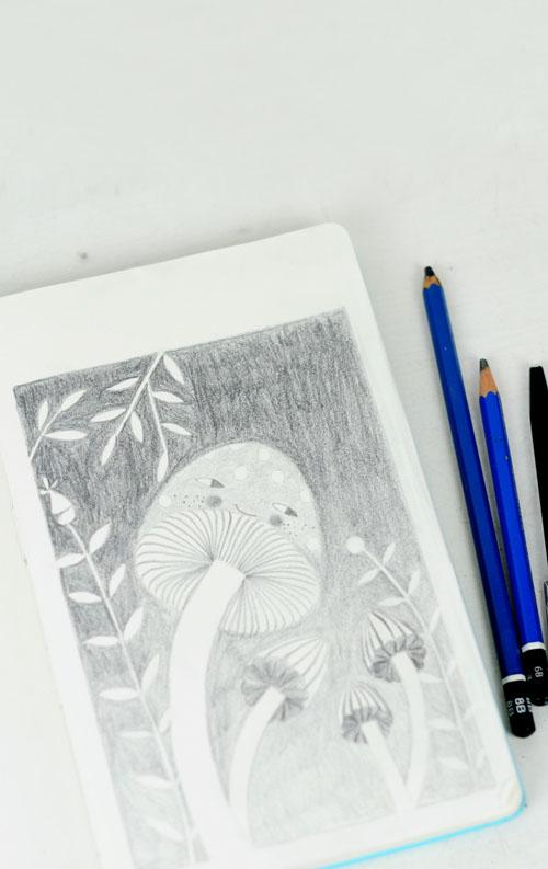 sketch by PinkNounou 4