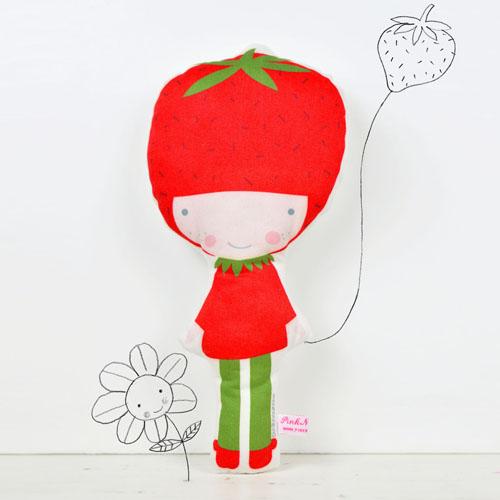 Strawberry doll by PinkNounou