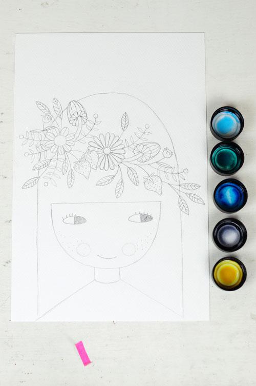 sketch by PinkNounou 8