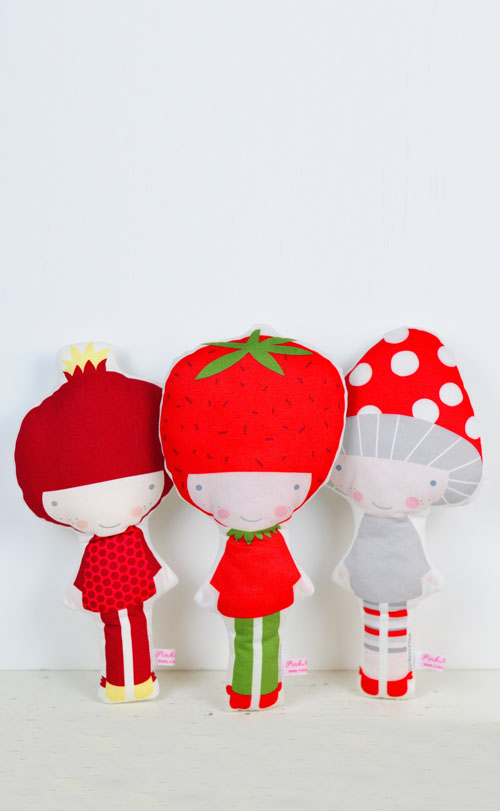 veggie dolls by PinkNounou -1