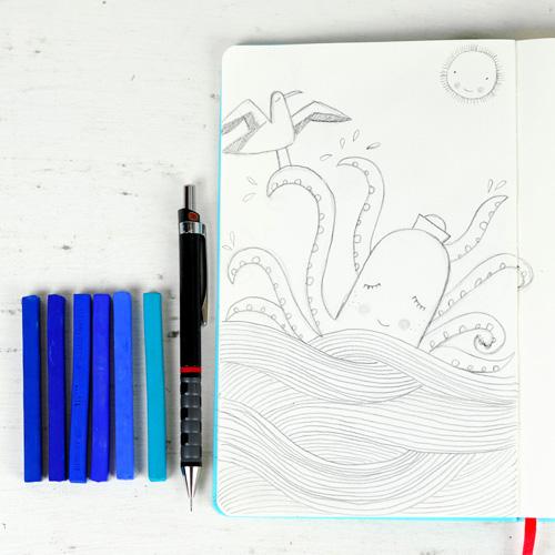 sketch by PinkNounou 10