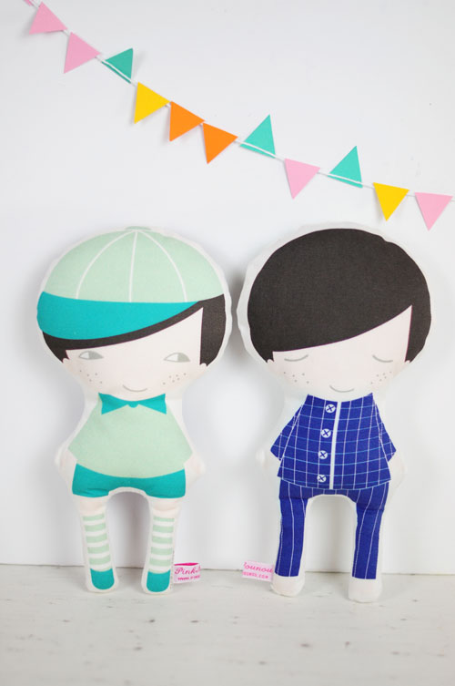 new day and night boy doll by PinkNounou 1