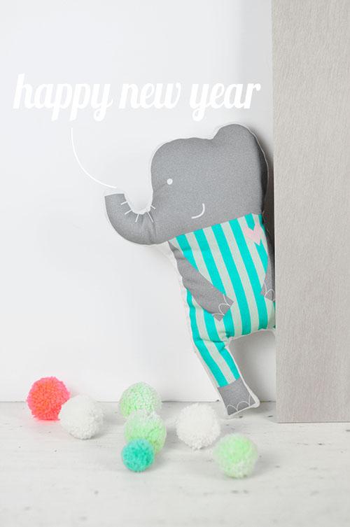 elephant doll by PinkNounou -1