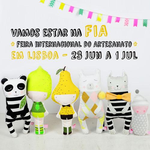 PinkNounou at FIA - FeiraInternacionalArtesanato