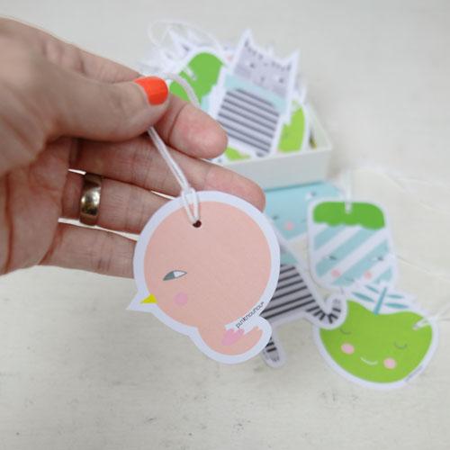 paper tags by PinkNounou -C
