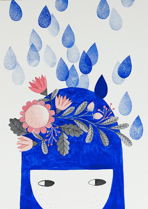 watercolor by PinkNounou 1