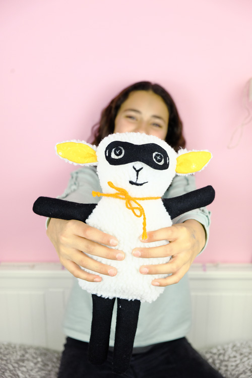sew a softie project diy 1A