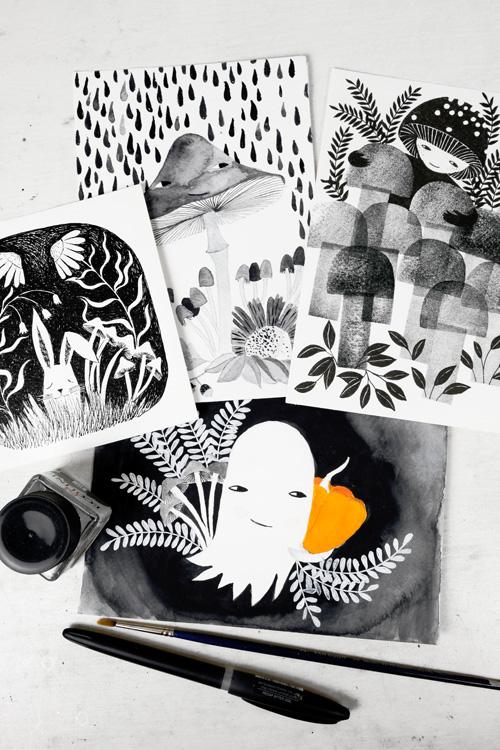 watercolor by PinkNounou 10