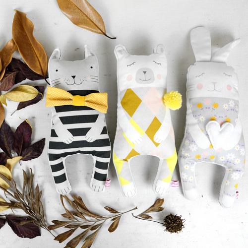 soft toys by PinkNounou 2