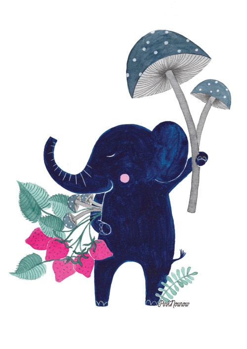 illustration by PinkNounou 8B